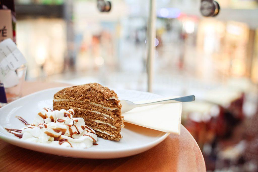 Sugar craving - chocolate cake