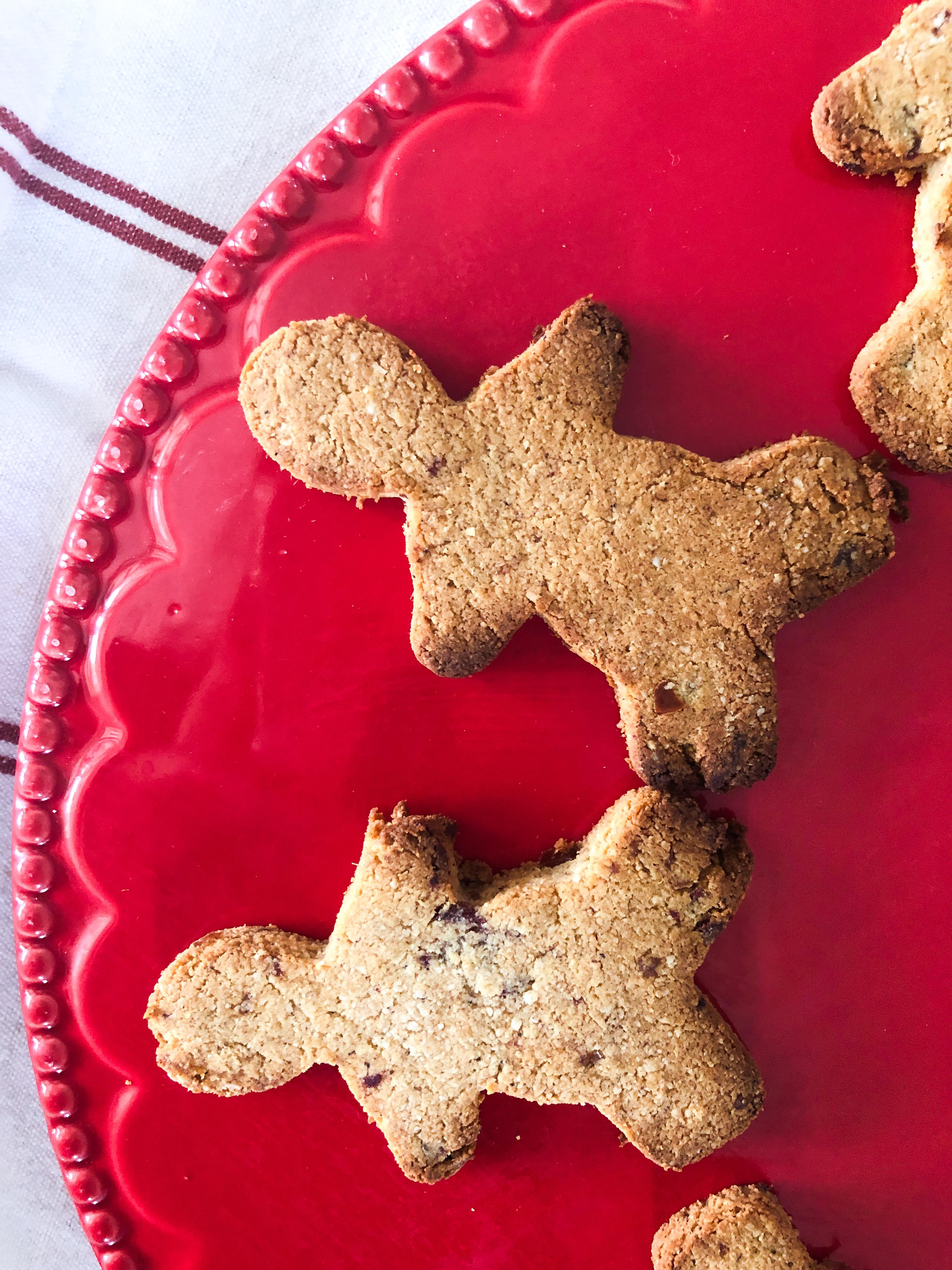 No refined sugar Gingerbread men