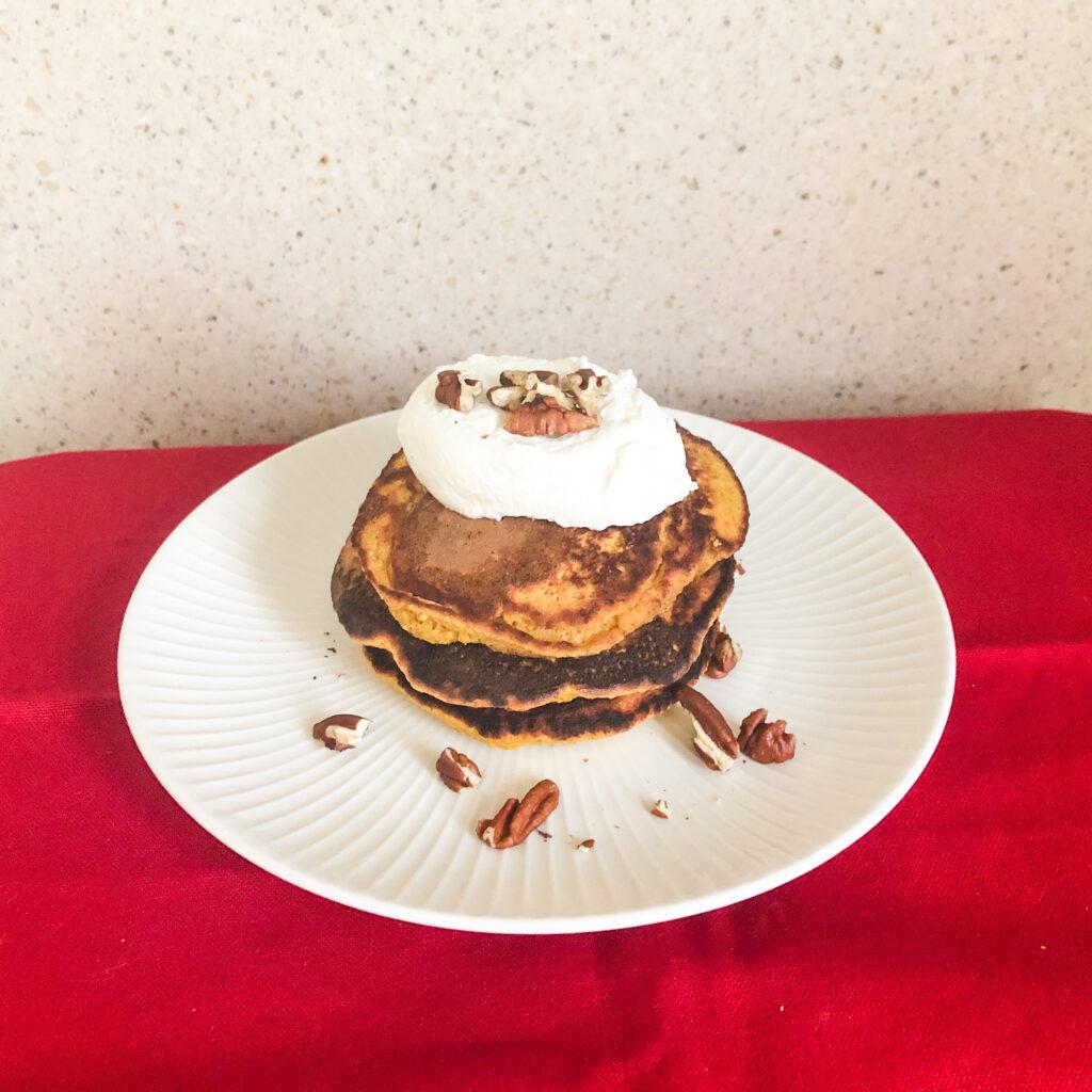 Refined sugar-free pancakes