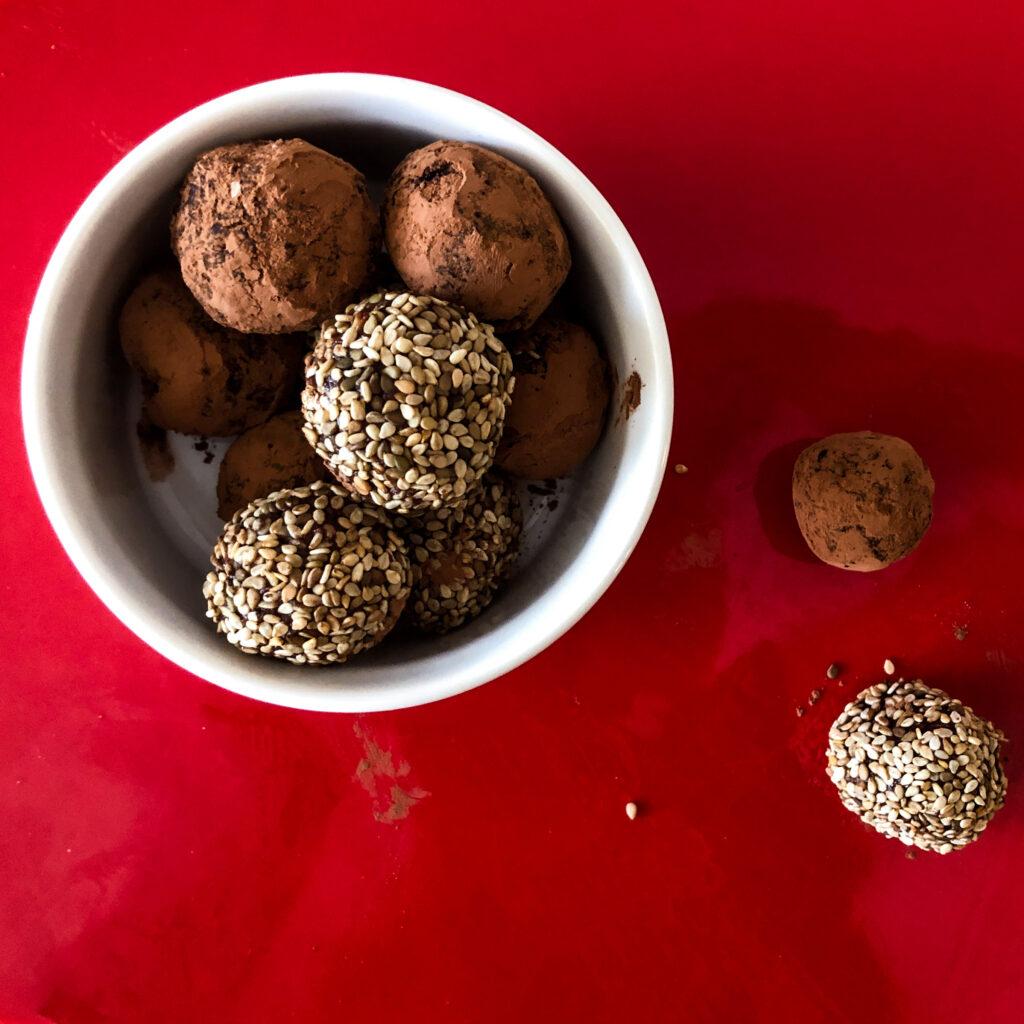 Sesame truffle (refined sugar free, vegan)