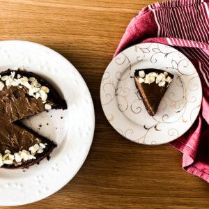 Fudgy Vegan Chocolate Cake